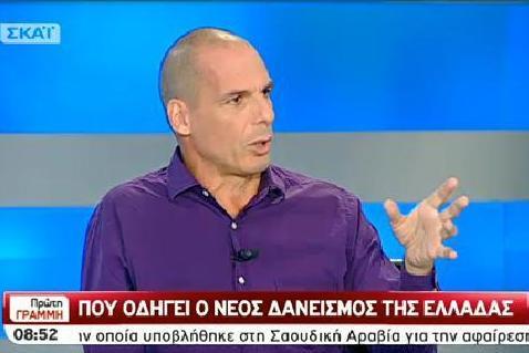 Γιάννης Βαρουφάκης: Και ο Θεός ο ίδιος να κατέβαινε στην Πλατεία Συντάγματος δε θα έβγαζε αυτό το πρόγραμμα.